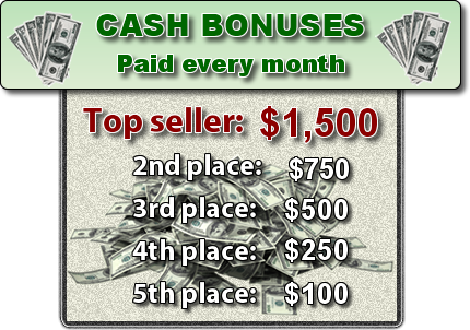 Monthly Cash Bonuses